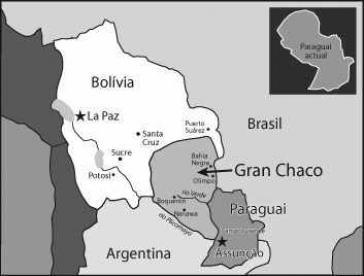 """Die umkämpfte Region """"Gran Chaco"""""""