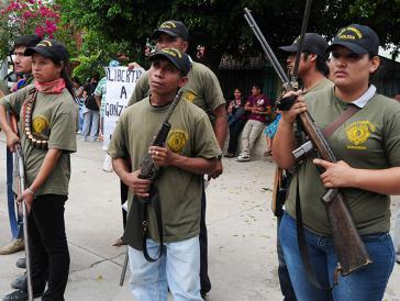 Selbstorganisierte Gemeindepolizei im mexikanischen Bundesstaat Guerrero