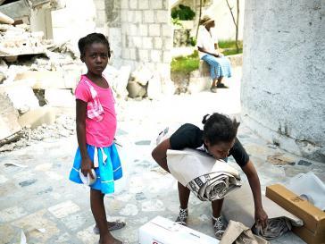 Haitianische Kinder: Auch sie wären von dem umstrittenen Gesetz betroffen gewesen