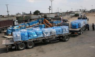 Konkrete Hilfe: LKW's bringen sechs Tonnen medizinische Hilfsgüter aus Kuba via Ägypten in den Gaza-Streifen