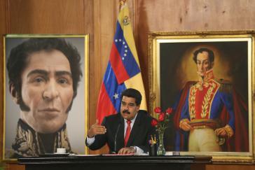 Nicolás Maduro kündigt Veränderungen an