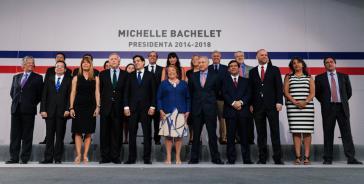 Chiles Kabinett für 2014-2018
