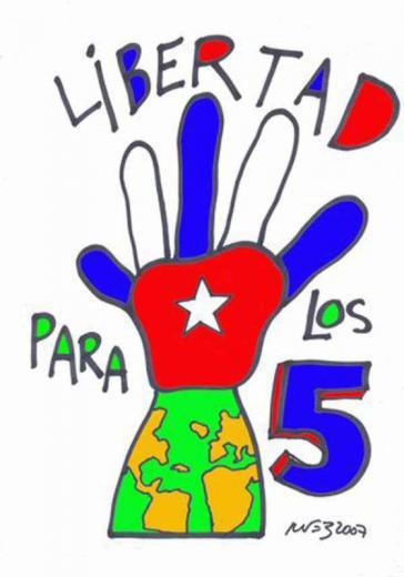 """Am 5. jedes Monats schreiben Unterstützer der """"Los Cinco"""" Briefe an den US-Präsidenten, um ihre Freilassung zu fordern"""
