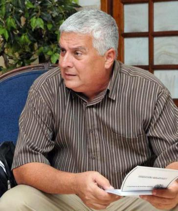 José Luis Toledo, der Vorsitzende der Arbeitskommission des Parlaments