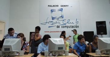 Internetcafe für Jugendliche in Kuba