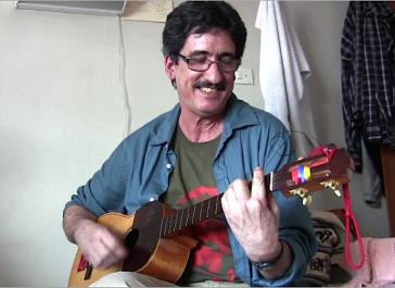 Guerillero und Musiker: Julián Conrado