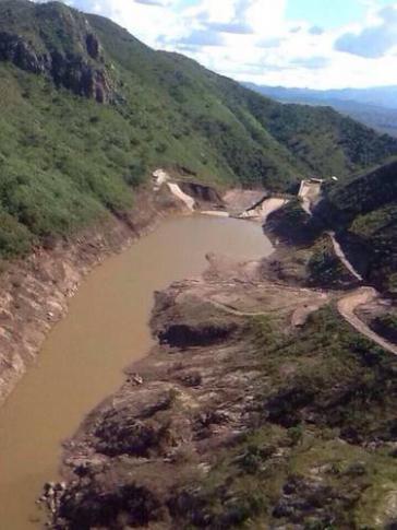 Kontaminiert: Der Rio Bacanuchi
