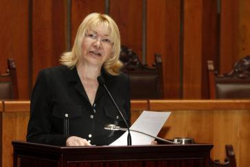 Die Generalstaatsanwältin Venezuelas, Luisa Ortega Diaz