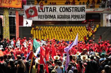 6. Kongress der Landlosenbewegung MST in Brasília