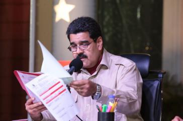 """Präsident Maduro will """"überflüssige und luxuriöse"""" Staatsausgaben abschaffen"""