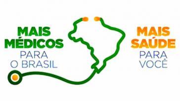 """Logo des Hilfsprogrammes: """"Mehr Ärzte für Brasilien """""""