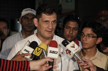 Der Minister für Wissenschaft, Technologie und Innovation, Manuel Fernández