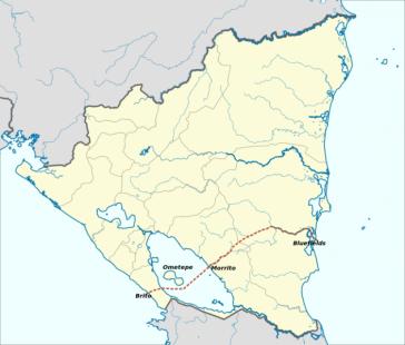 Geplante Route des Kanals