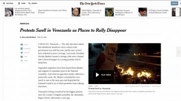 Screenshot des NYT-Artikels