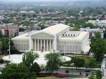 Gebäude des Obersten Gerichtshofs der USA