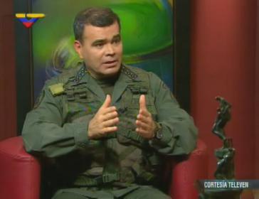 "General Vladimir Padrino López am Sonntag in der Sendung ""José Vicente Hoy"""