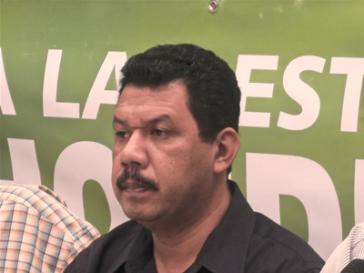 Pedro Landa, Koordinator des Programms für Menschenrechte und Umwelt im Honduranischen Zentrums zur Förderung der Gemeindeentwicklung (CEPRODEC)