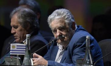 Uruguays Präsident José Mujica beim Celac-Gipfel in Havanna