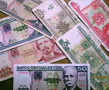 Werden erneuert: Kubanische Peso-Scheine