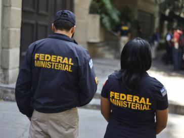 Agenten der Polizeibehörde PFM in Mexiko