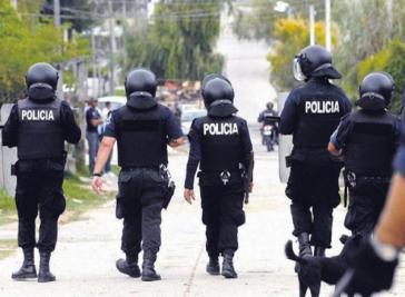 Angehörige der Nationalpolizei von Honduras