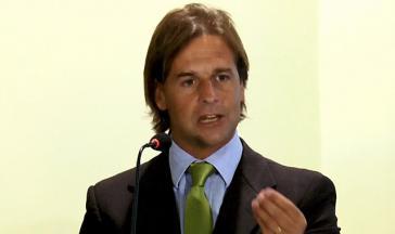 Der neue Kandidat der uruguayischen Opposition:  Luis Lavalle Pou von der Partido Nacional