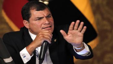 Reist nicht nach Israel: Ecuadors Präsident Rafael Correa