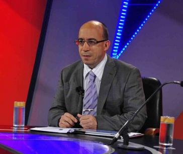 """Der Kubanische Journalist Randy Alonso Falcón, Leiter des Internetportals Cubadebate und der TV-Sendung """"Mesa Redonda"""""""
