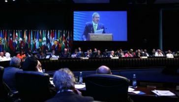Kubas Präsident Raúl Castro hielt die Eröffnungsrede beim Celac-Gipfel
