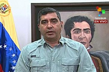 Ruft zum Dialog auf: Innen- und Justizminister Rodríguez Torres