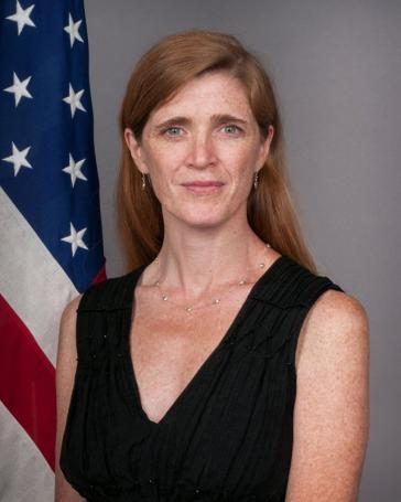 """Kritisiert die """"fehlende Opposition"""" gegen Venezuela in der UN-Generalversammlung: Samantha Power, US-Botschafterin bei der UNO"""