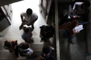 Studierende der Kommunikationswissenschaft an der Universität Havanna