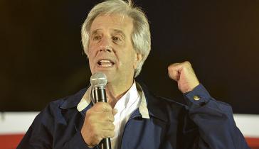 Der Kandidat der regierenden Frente Amplio, Tabaré Vázquez, liegt in den Umfragen vorn