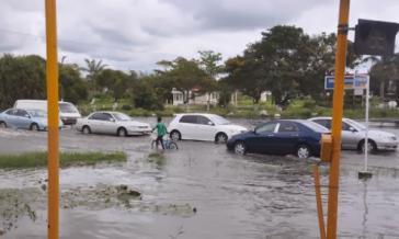 """Überschwemmungen auf den Karibikinseln verwandeln sich in """"toxische Brühen"""""""