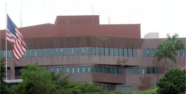 Die US-Botschaft in Caracas