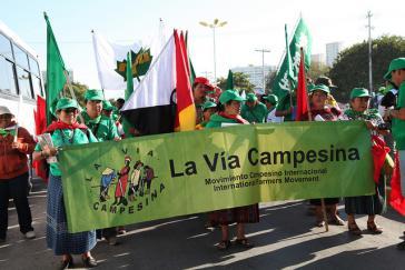 Aktivisten der Organisation Vía Campesina (Archivbild)
