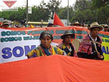 Über 50.000 Menschen demonstrierten am 16. Mai in Guatemala-Stadt