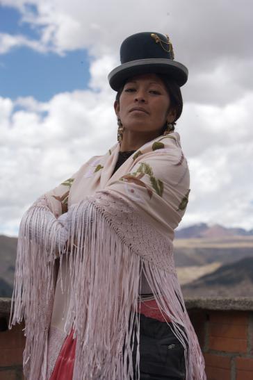 Yolanda la Amorosa gehört zu den Fighting Cholitas