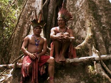 Josias Maná und Nilo Bixku vom Volk der Hunikui