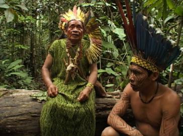 Augustinho Muru und Tadeu Siã im Film Ma Ê Dami Xina