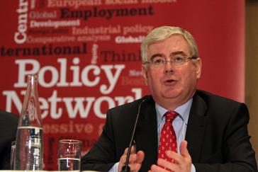 Der irische Politiker Eamon Gilmore ist EU-Beauftragter für den Friedensprozess in Kolumbien