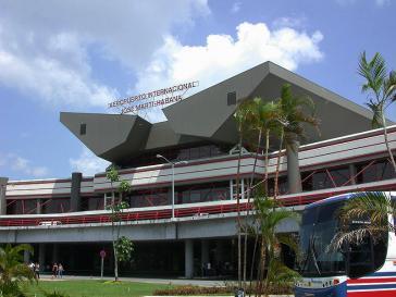 Begehrtes Ziel: Der internationale José-Martí-Flughafen von Havanna