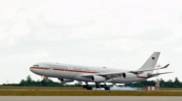 Airbus der Flugbereitschaft – Die Destination Havanna ist zunächst vom Flugplan gestrichen