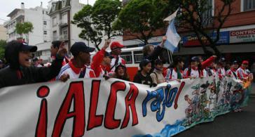 Zehntausende demonstrierten in Mar del Plata gegen das Projekt der Gesamtamerikanischen Freihandelszone