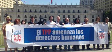 "Bündnis Chile Mejor Sin TPP: ""TPP bedroht die Menschenrechte"""