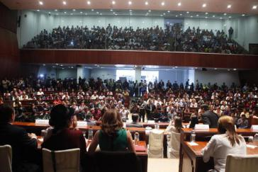 Hunderte Aktivistinnen und Aktivisten nehmen an den Bürgerversammlungen teil