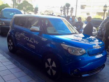 Das Elektroauto Kia Soul soll bald in Ecuador verkauft werden
