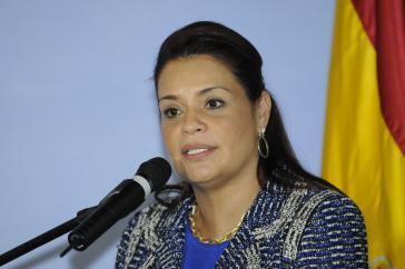 Ex-Vizepräsidentin Roxana Baldetti.