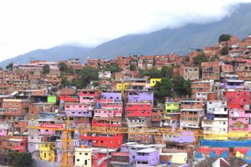 Auch in den Barrios von Caracas konnte der Chavismus seine Mehrheit nicht halten