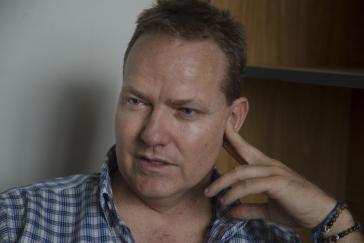 Der venezolanische Soziologe Javier Biardeau